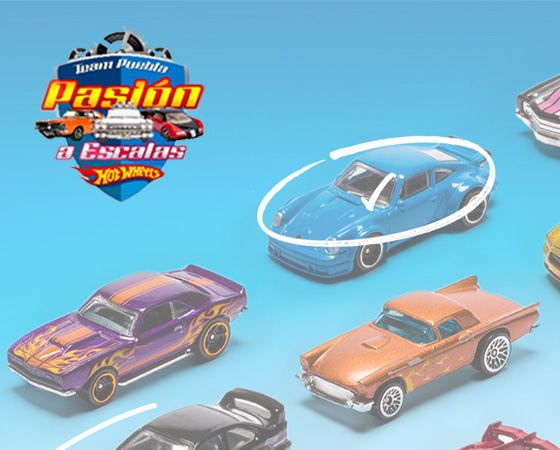 HOT WHEELS PASIÓN A ESCALAS
